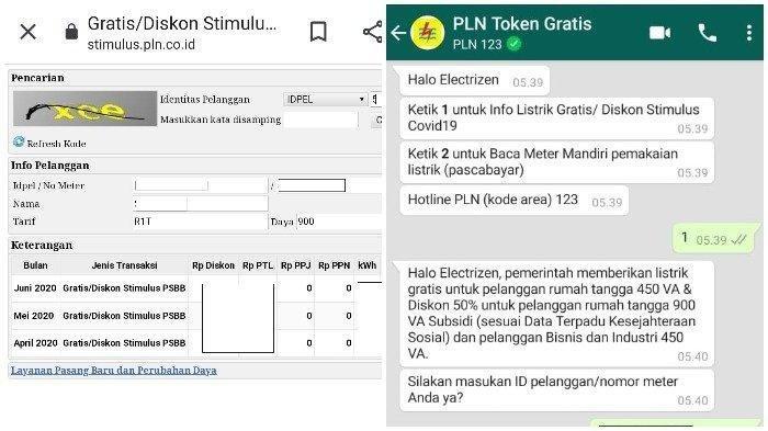 Cara Klaim Token Listrik Gratis September 2020, Login www.pln.co.id dan Whatsapp