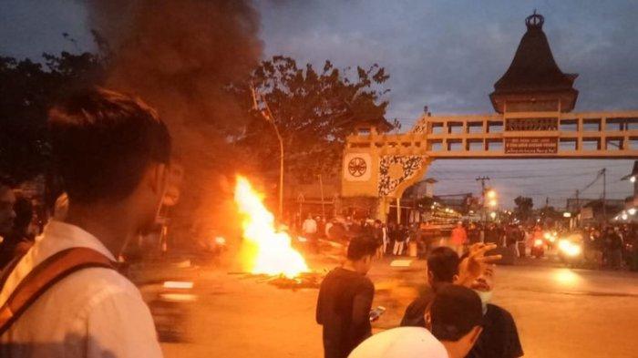 Rusuh Aksi 22 Mei Merembet ke Pontianak Kalbar, Dugaan Gubernur Sikapi Aksi Pembakaran Pos Polisi