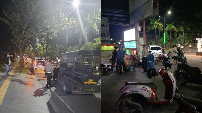Polisi Datang, Aksi Balap Liar Puluhan Pemuda di Banjarmasin Utara Langsung Buyar
