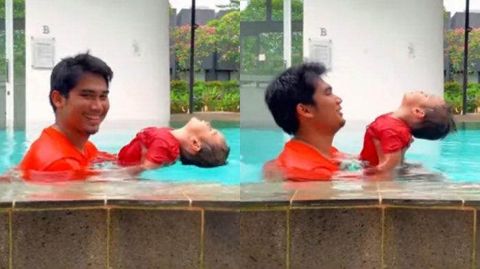 Kelakuan Kiano Baim Wong Berakting di Kolam Renang Terekam, Nail Fadhly: Les Privat