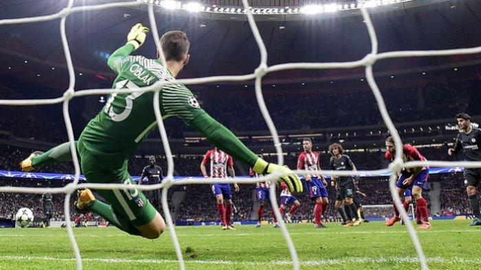 Hasil Liga Spanyol - Atletico Madrid Tancapkan Kuku Posisi Kedua Klasemen, Jan Oblak Jadi Pahlawan