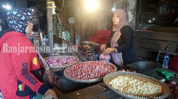 Pascalebaran 1440 H Harga Bawang di Banjarmasin Masih Tinggi, Harga Ayam Potong Rp 28.500 Per Kg