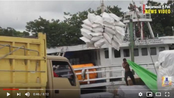 Dinas Perdagangan Kalsel dan KSOP Banjarmasin Sepakati Jaga Ketersediaan Bahan Pokok