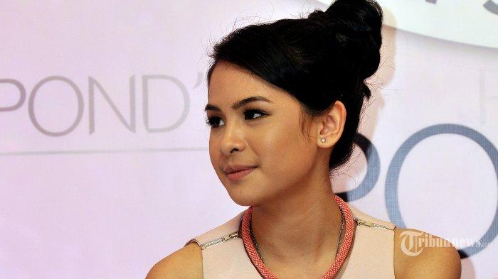 Aktris sekaligus penyanyi, Maudy Ayunda.