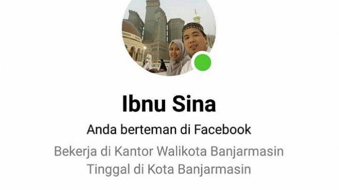 Akun Facebook Wali Kota Banjarmasin Ibnu Sina Dikloning, Pelaku Sempat Meminta Uang