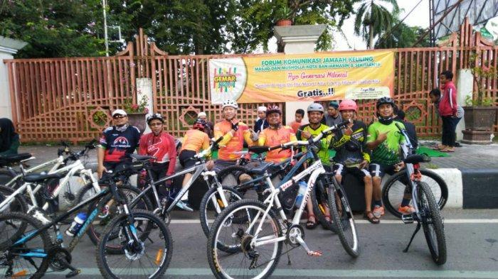 Klub Sepeda di Banjarmasin ini Rutin Gowes Sambil Dakwah