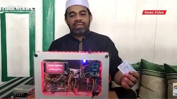 Alat bernama Smart Checker ciptaan Habib Fathurrachman, warga Kota Banjarmasin, Provinsi Kalimantan Selatan, Sabtu (31/7/2021).