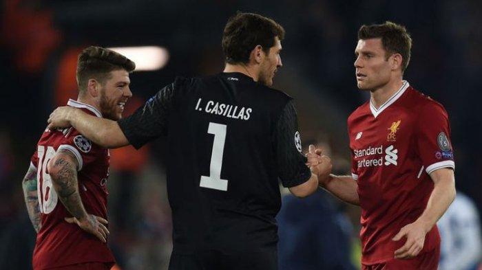 Liverpool Vs Porto, Iker Casillas Kiper Tersering Mencatat Clean Sheet di Liga Champions
