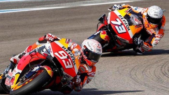 Marc Marquez Melejit Posisi 6 di Hasil FP 2 MotoGP Portugal 2021, Bagnaia Tercepat & Rossi Tercecer