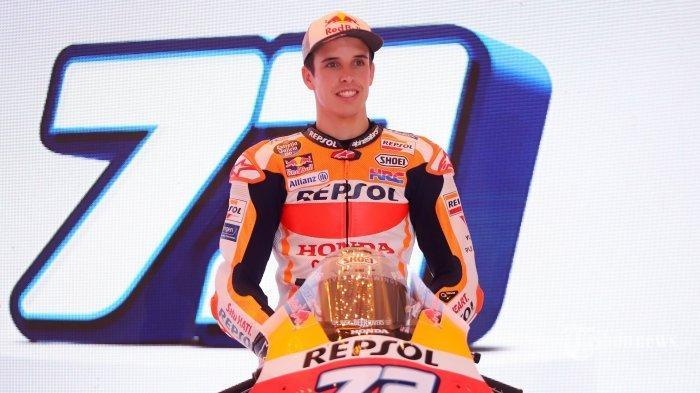 ILUSTRASI - Alex Marquez saat di MotoGP Spanyol 2020. Jelang MotoGP Ceko 2020 Minggu 9 Agustus 2020, Alex Marquez Perbaiki Performa, Sirkuit Brno Siap Dilibas