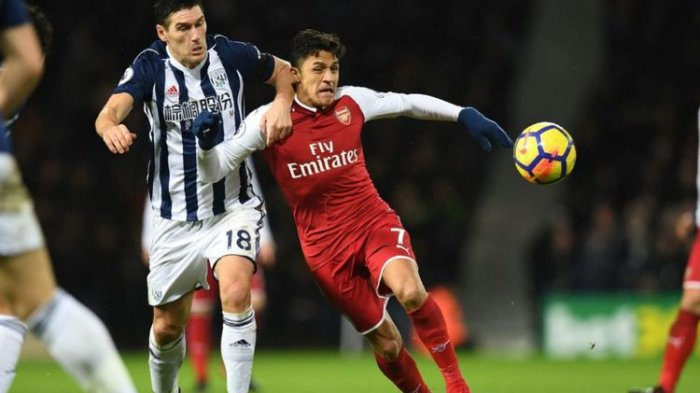Hasil Liga Inggris - Arsenal Pun Bermain Imbang Juga Saat Kontra West Bromwich Albion