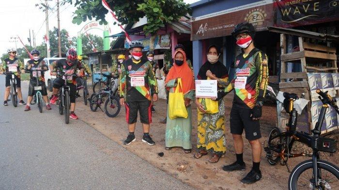 Rayakan HUT Kemerdekaan RI, Ritel Modern Ini Gelar Gowes Sabang Merauke Kampanyekan Solidaritas