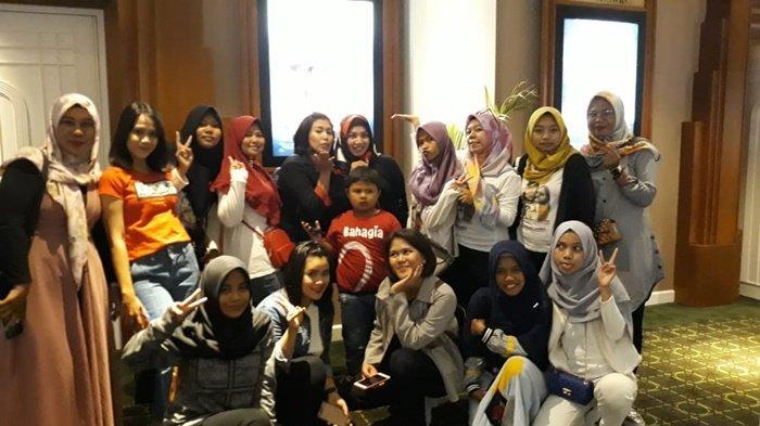 Kalselpedia - APL Indonesia Banjarmasin Konsisten Support Aliando-Prilly