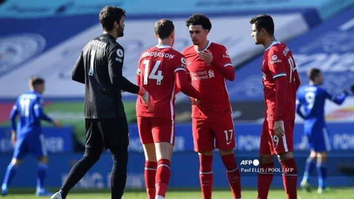 Liga Inggris Malam Ini Liverpool vs Everton : Duet Henderson dan Ozan Kabak di Derby Merseyside