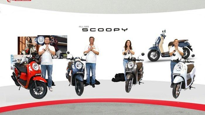 Resmi Launching secara Virtual, All New Honda Scoopy 2020 Miliki 4 Varian