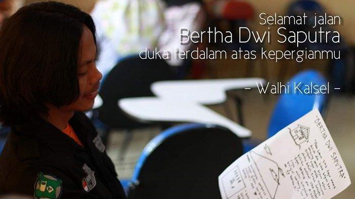 Jenazah Dwi Anggota Mapala APACHE STMIK Banjarbaru yang Tewas Tenggelam Diterbangkan ke Sumatera