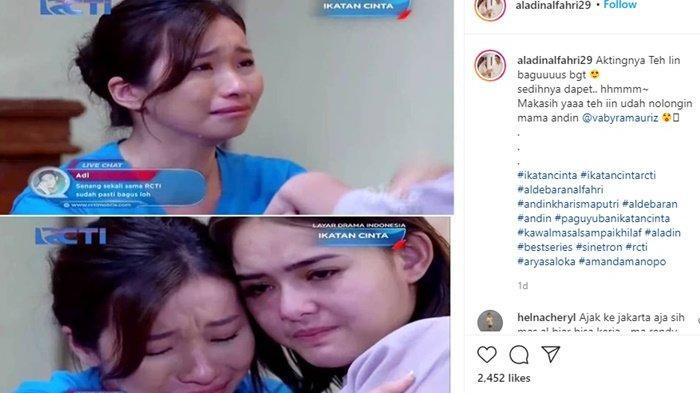 Selain Defy Eviyana, Amanda Manopo Saat Jadi Andin di Ikatan Cinta RCTI Juga Ditolong Vabyra Mauriz