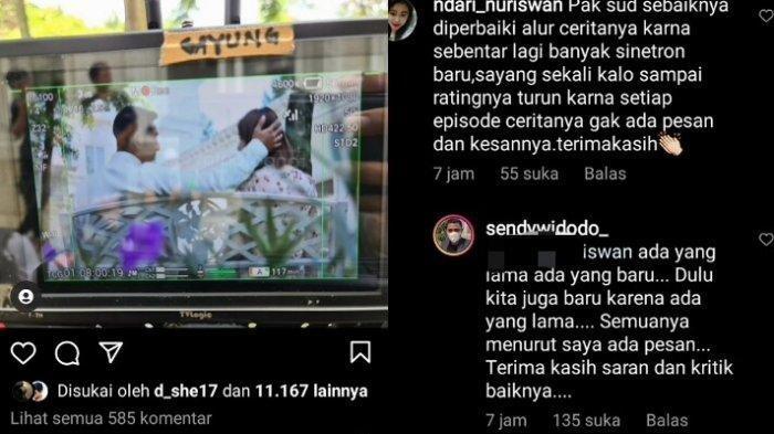 Sendy Widodo dikritik usai pajang kemesraan Arya Saloka dan Amanda Manopo