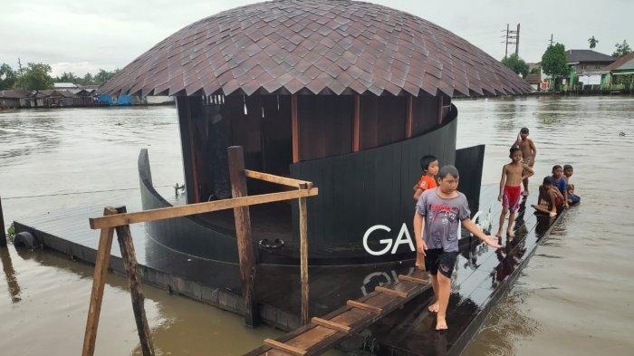 Travel - Pembangunan Galeri Terapung Mengingatkan Sejarah Banjarmasin