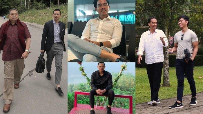Putra Jokowi, Kaesang & Anak SBY, AHY Tepergok Bercelana Cingkrang, Pakaian yang Kini Jadi Polemik