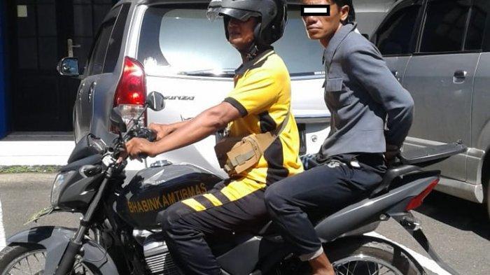 Sering Mabuk dan Ngelem, Warga Mantuil Ini Diantar ke RSJ Sambang Lihum untuk Rehabilitasi