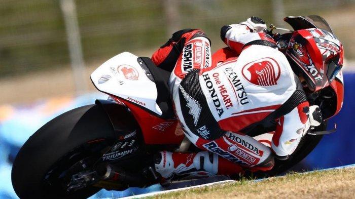 Hasil MotoGP Andalusia 2020 : Andi Gilang Cemerlang, Adik Valentino Rossi Finish Ke-2 di Kelas Moto2