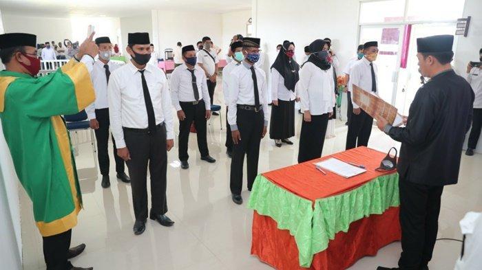 Sekda Kabupaten Tanbu Minta BPD Awasi Pengelolaan Dana Desa