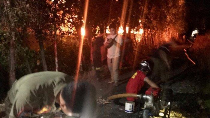 Kebakaran di Kalsel, Minggu Dinihari Api Hanguskan Beberapa Ruangan di SMAN 1 Marabahan Batola