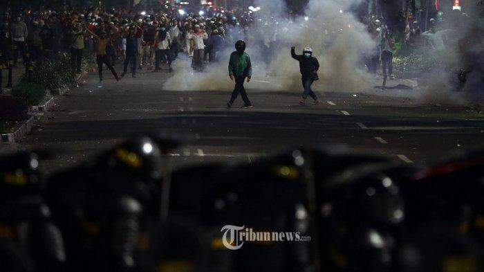 UPDATE Aksi 22 Mei, Kompleks Parlemen di Senayan Ditutup dan Digembok Sejak Tadi Malam