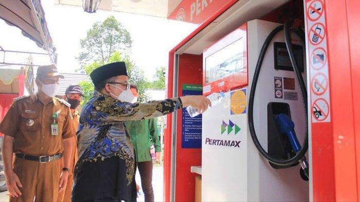 Pertashop dibuka Resmi di Desa Mungkur Uyam Kabupaten Balangan