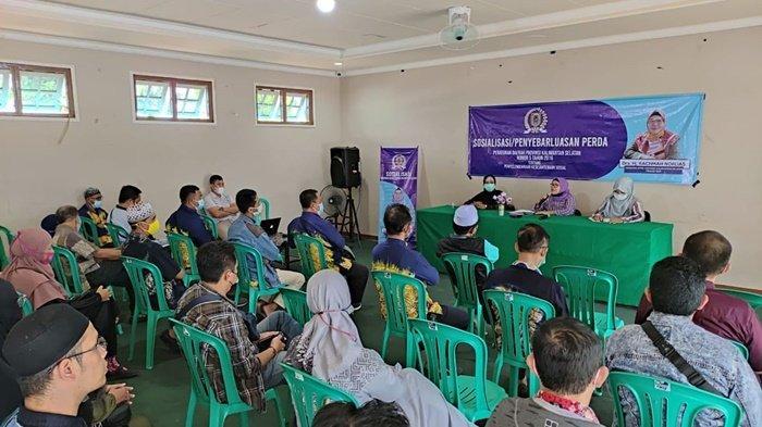 Anggota DPRD Kalsel Beri Masukan kepada Panti Asuhan tentang Menjaring Donatur
