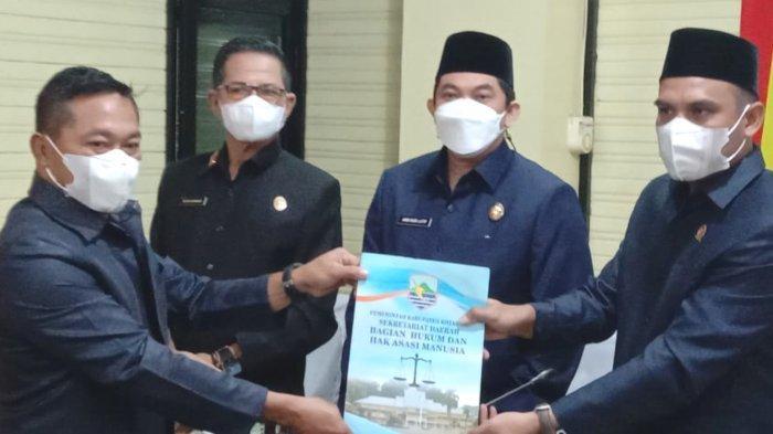 Banggar DPRD Setujui RAPBD-P Tahun 2021 yang Diajukan Pemkab Kotabaru