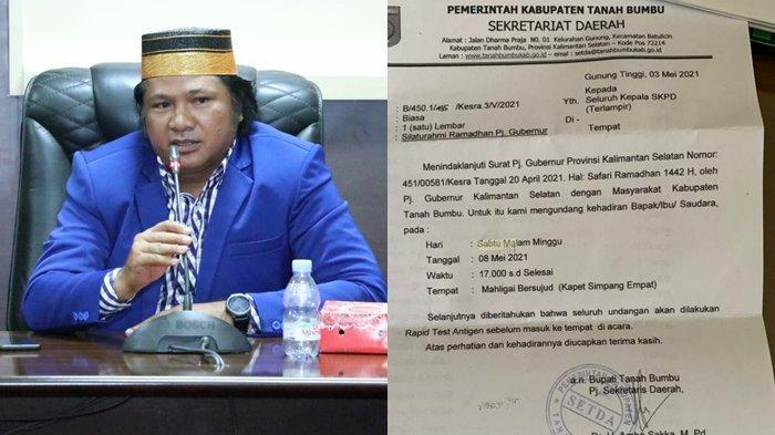 SilaturahmiRamadan Pj Gubernur Jadi Sorotan Anggota DPRD Tanahbumbu Kalsel
