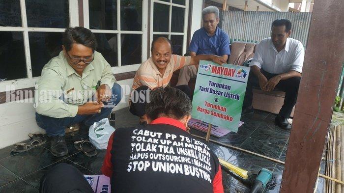 Peringati Hari Buruh, Sekitar 200 Buruh Banjarmasin Bakal Gelar Aksi Teriakan Tuntutan Ini
