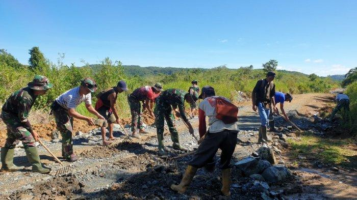 Jalan Tembus Tala-Banjar Tuntas, Pedagang Kini Mudah Cari Barang Dagangan ke Kabupaten Tetangga