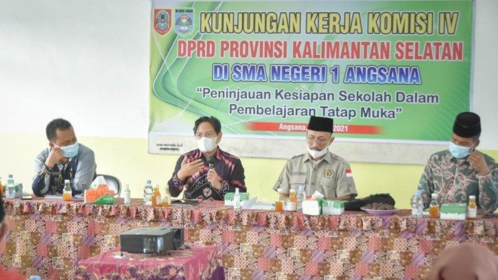 Anggota DPRD Kalsel Minta Sekolah Bikin Buku Saku Prokes Covid-19 untuk Siswa