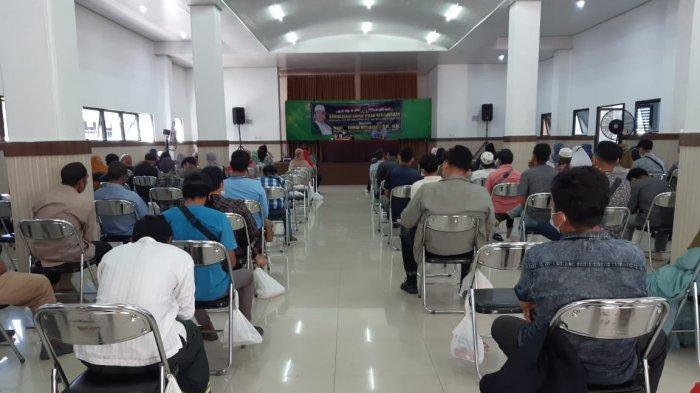Anggota MPR RI  Habib Hamid Abdullah, SH, MH, telah melakukan sosialisasi empat pilar kebangsaan di Gedung Santosa Jalab Belitung Darat Banjarmasin.
