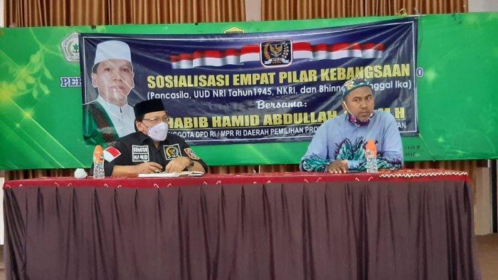 Anggota MPR RI Habib Hamid Abdullah Sosialiasikan Pilar Kebangsaan di Banjarmasin