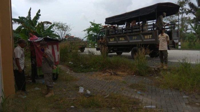 Layani Remaja Tak Puasa, Pedagang Pentol di Jalan Walangsi- Kapar Marak HST Ditertibkan Satpol PP