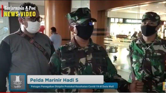 VIDEO Pengunjung Duta Mall Banjarmasin Diperiksa Pakai Alat InI