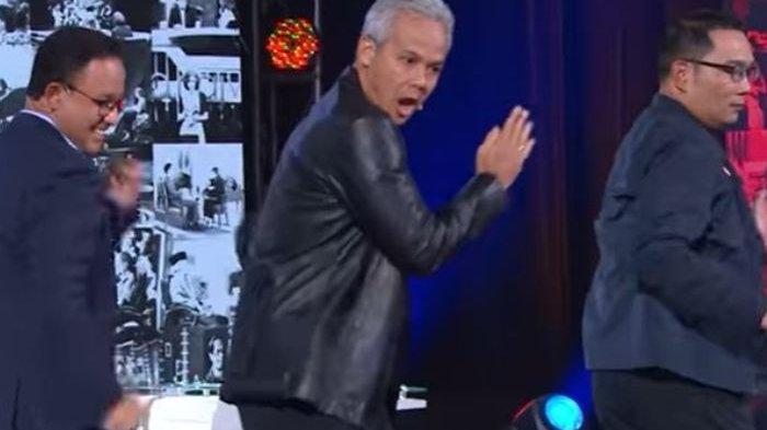 Viral Video Anies Baswedan, Ridwan Kamil, Ganjar Pranowo Joget Any Song Challenge ala Boyband