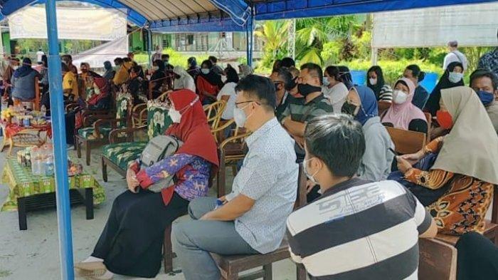 Jelang Sekolah Tatap Muka, Animo Wali Murid di Sampit Kotim Mengikuti Vaksin Covid-19 Tinggi