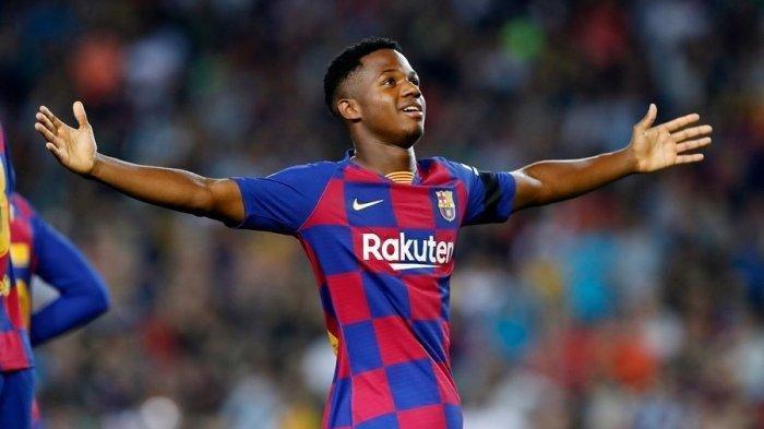 Ansu Fati Cetak Dua Gol ke Gawang Levante Pekan 22 Liga Spanyol 2020