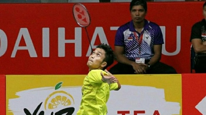 Live Streaming MNCTV Final China Open 2018 : Anthony Ginting Lawan Momota Pukul 12.00 Wib