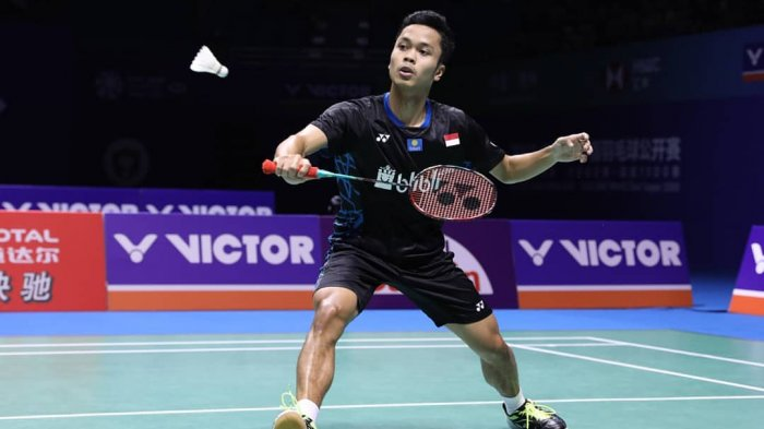 Hasil Japan Open 2019, Anthony Ginting Lolos Babak Selanjutnya, Tontowi/Winny Tersingkir