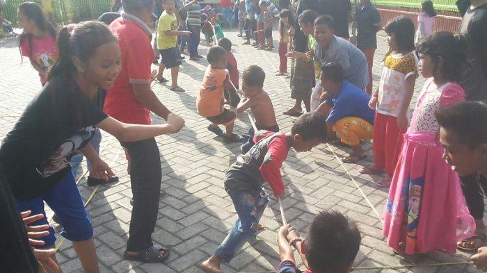 Komunitas di Alalak Banjarmasin Ini Kian Intens Lestarikan Permainan Tradisional