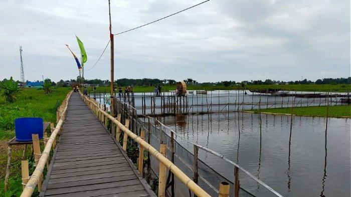 Tempat Wisata Rumah Singgah Terapung Desa Banyu Hirang HSU Masih Ditutup
