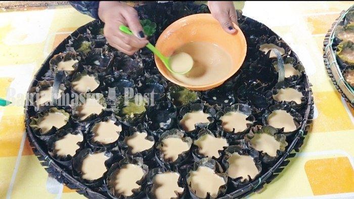 Kuliner Kalsel Apam Barabai Gunakan Daun Dadap, Hasilkan Cita Rasa Khas
