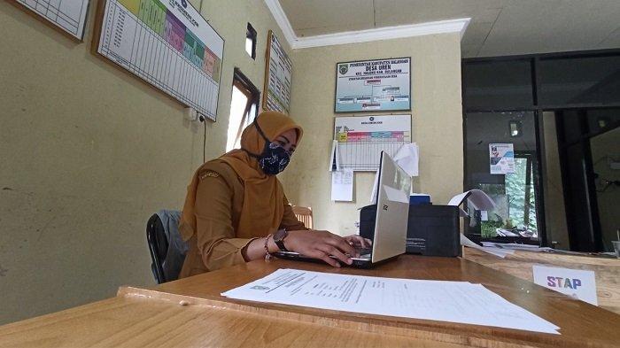Lima Kantor Desa di Halong Balangan Rampung Dipasangi Internet, Laporan Via Daring Lebih Mudah