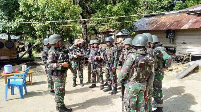 Jelang Magrib, Rombongan TNI Diserang Kelompok Komite Nasional Papua Barat
